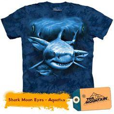 Tricouri The Mountain – Tricou Shark Moon Eyes Shark, Mountain, Moon, 3d, Eyes, Fictional Characters, Sharks, The Moon, Fantasy Characters