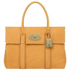 c9d4fc3a3c74 Mulberry Cookie Bayswater Ochre Smooth Nubuck It Bag