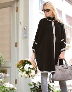 L'indispensable pour future maman trendy: La cape Seraphine