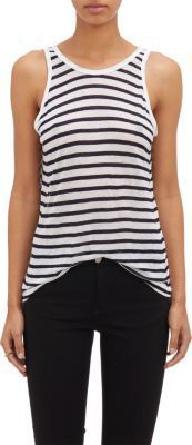 T by Alexander Wang Striped Tank