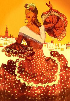 Cruzcampo Feria de Abril by Jose Manuel Hortelano-Pi, via Behance