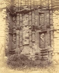 Sun Temple of Konark from Archaeological Survey of India Collections - 1890 - Part 1 - Old Indian Photos Indian Architecture, Ancient Architecture, Ancient Aliens, Ancient History, Hindu Temple, Indian Temple, Archaeological Survey Of India, Unique Facts, Vintage India