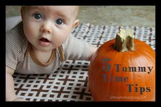 Tips for Tummy Time with your little one.  - Some tummy time tips for the little ones!