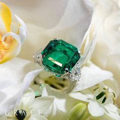"""5,681 Likes, 48 Comments - Graff Diamonds (@graffdiamonds) on Instagram: """"Extraordinaire emeralds and other rare jewels, on display at our flagship store in Hong Kong…"""""""