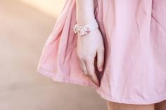 Spring #luliartbijoux #colours #pink #bracelet #cute #girly
