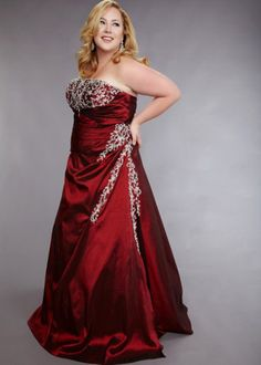 plus size prom dress | Prom | Pinterest | Plus size prom, Prom ...