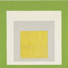 Josef Albers, STUDY TO HOMAGE TO THE SQUARE: MAY