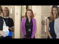 """SNL Black Widow Trailer: Marvel knows women - """"In her first standalone film, Black Widow (Scarlett Johansson) juggles an internship at Fashion Weekly magazine and a complicated relationship with boyfriend Ultron."""""""