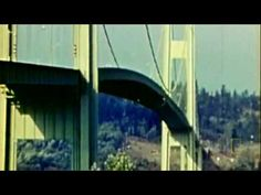 """Tacoma Narrows Bridge Collapse.  after that they studied up about """"resonant frequency"""""""