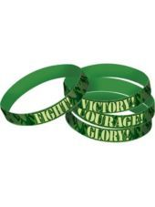 Camouflage Army Party Bracelets Favours Rubber Assorted Designs (Pack of from Australia's Party Supplies. Unique party ideas for kids parties, birthday parties and party themes. Army Birthday Parties, Army's Birthday, Birthday Party Themes, Birthday Stuff, Birthday Decorations, Birthday Ideas, Military Party, Army Party, Camo Party Supplies