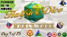 Halfsies Dice - World Tour project video thumbnail