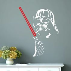 Darth Vader Wall Sticker //Price: $7.95 & FREE Shipping // #TheForceAwakens