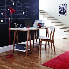 Woodman - Highbury Trestle Desk - Furgner