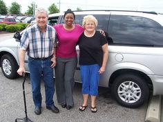 Cecil and Carol from Rocky Mount NC traveled over to Cox Dodge in Wilson to pick up their next van, this solid 2005 Dodge Grand Caravan. Thank you Cecil and Carol for your business. Their sales person is Felicia Gray