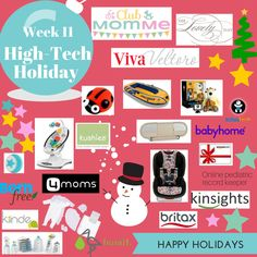 I've got a holiday gift for y'all – I'm co-hosting a giveaway with Club MomMefull of innovative and high tech goodies and services perfect for littles and families. Prizes include: Britax Click Tight car seat Always In View – car monitor and On The Go monitor Kinsights – online pediatric medical record keeper ~ Amazon …