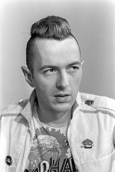 Joe Strummer love this guy with the bottom of my heart. Best punk rocker in history!!!!