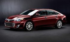 Unveiled today, the 2013 Toyota Avalon! I can't wait!