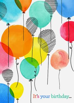 Margaret Berg Art: Floating+Balloons
