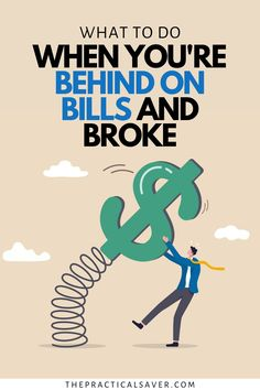 Are you behind on your bills? | The Practical Saver | I've been there too, it's not fun. Here are 11 Easy Tips to Turnaround Your Finances when You're Behind on Bills. Learn simple solutions for money management and how to get out of debt, get current on your bills, and how to budget with success. These money hacks will help you pay your bills on-time. Never be broke again with these saving money tips and more. #personalfinance #moneyhacks #moneymanagement #financialcrisis Financial Literacy, Financial Tips, Budgeting Finances, Budgeting Tips, Hobbies That Make Money, How To Make Money, Money Tips, Money Saving Tips, Budget Meal Planning