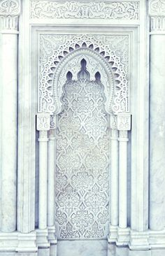 Uploaded by Emma Rahić. Find images and videos on We Heart It - the app to get lost in what you love. Islamic Architecture, Beautiful Architecture, Beautiful Buildings, Architecture Details, Concrete Architecture, Gothic Architecture, Moroccan Design, Moroccan Style, Design Marocain