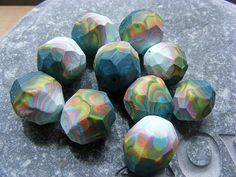 Off Cut Faceted Nuggets! by Pips Jewellery Creation, via Flickr