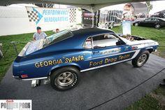 Georgia Shaker Ford Mustang Drag Car