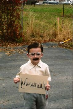 lafawnduh! adorable little kids in costumes - heaven help the people that understand this one.... truly a lol for me