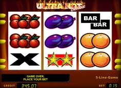 Playing slot Ultra Hot Deluxe for money. The company Novomatic decided to upgrade the known version of the game Ultra Hot. Like its predecessor, the new gaming machine is an analogue of the classical mechanical slot. The Ultra Hot Deluxe While there are familiar to all players of the drum 3, fruit and berry icons and the risk game. And
