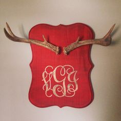 Deer horn antler jewelry holder