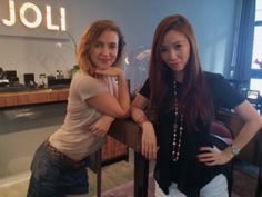 Von looks cool with her new bracelet and ring from #MARIJOLI! We love to make our girls happy! #happypurchase