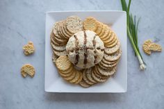 March Madness Inspired Basketball Cheese Ball Appetizer | MyRecipes.com