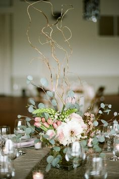 Wedding Inspiration: Music City Events Brings Blush &amp Gold To Style Shoot At Noah Liff Opera Center