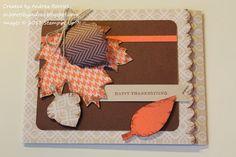 Snippets: Thankful Tablescape kit card tutorial