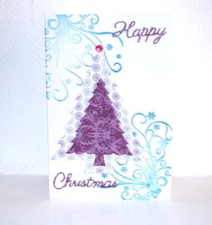 Handmade Christmas Tree Happy Christmas Card Vintage papers by HomeandaFarr on Etsy Handmade Christmas Tree, Christmas 2016, Christmas Cards, Vintage Paper, Arts And Crafts, Happy, Etsy, Christmas Greetings Cards, Xmas Cards