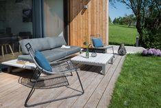Preise: Ferienhaus Seeleben46 am Irsee Design Hotel, Outdoor Furniture Sets, Outdoor Decor, Sun Lounger, Austria, Studio, Luxury, Places, Holiday
