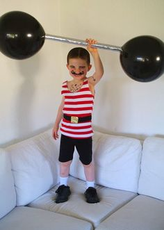 Strong man Circus Style costume how to                                                                                                                                                     More