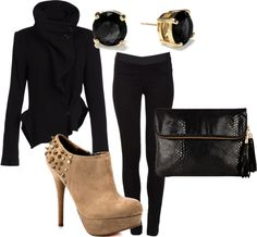"""""""Winter: Casual"""" by jacampbell on Polyvore"""