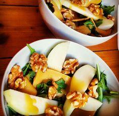 Pear & nuts