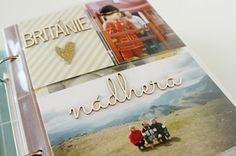 Birthday Snap album with Czech Project Life cards