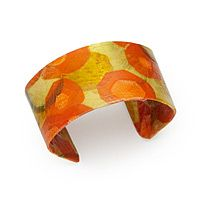 CARROT PARCHMENT COLLAGE CUFF|UncommonGoods     lj