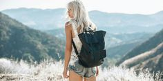 Extra large leather backpack in black by morelle Italian Leather Handbags, Black Leather Backpack, Leather Bags Handmade, Bradley Mountain, Bag Accessories, Backpacks, Stylish, Strong, Photoshoot