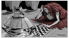 Bloodborne: Oedon Chapel Dweller by MenasLG.deviantart.com on @DeviantArt