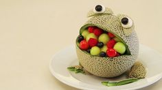 cute melon frog !