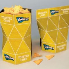 Innovador empaque para Doritos #Chips #Dips #Salsa #Potato #Kettle #Corn #Rice