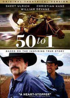 Jim Wilson's sports drama 50 TO 1 tells the story of horse trainer Bernie Wooley (Skeet Ulrich), veterinarian Leonard Blach (William Devane), and owner Mark Allen (Christian Kane), three formerly misf More
