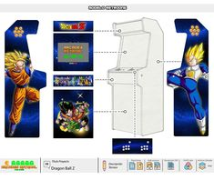 Diseños – Arcades RetroAl Arcade Bartop, Mini Arcade, Lego Worlds, Arcade Machine, Used Books, Dragon Ball Z, Scandal, Supernatural, Novels