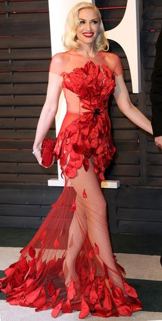 Oscars 2016: All the Dresses You Didn't See | People - Gwen Stefani in Yanina Couture