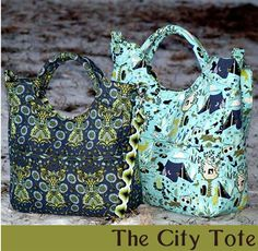 The City Tote Daytripper and Everyday Bag Pattern