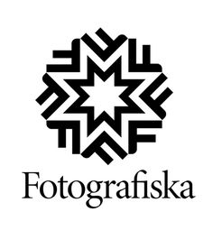 Created by Stockholm-based design studio BankerWessel. The first, shown above and below, is for Fotografiska, a photography museum in Stockholm. BankerWessel's design features a star-based logo which includes the F and M of the museum's name. Museum Identity, Museum Branding, Brand Identity, Visual Identity, Typography Logo, Logo Branding, Stockholm, Pixel Image, Creative Review