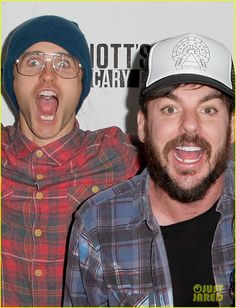 Jared & Shannon Leto At Knott's Scary Farm Friday Oct' 16th In Buena Park, Calif.